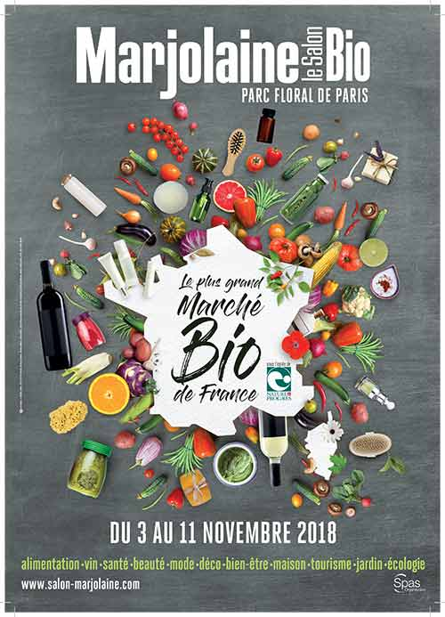 In 2018, the Marjolaine fair celebrates the beautiful practices of organic farming!