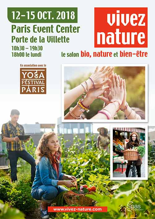Vivez Nature trade fair show 2018: Autumn will be organic and zen in Paris!