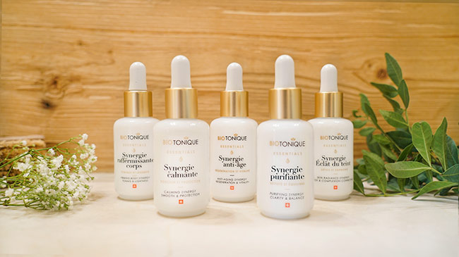 Biotonique launches Synergies, a new range of Face and Body oils