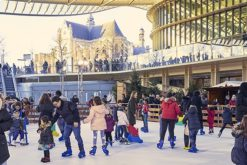 Une patinoire géante au Forum des Halles