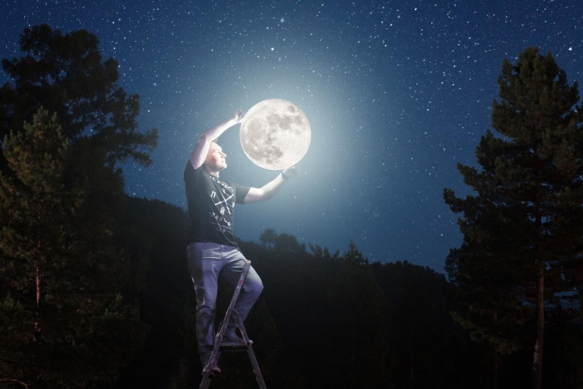 (Français) La lune au Grand Palais