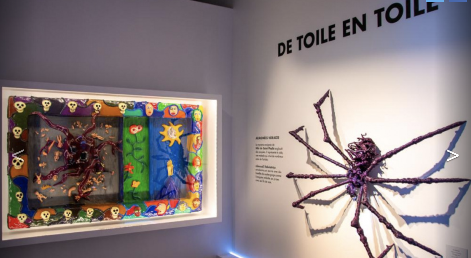 ARAIGNÉES, LUCIOLES ET PAPILLONS, THE ARTISTIC-SCIENTIFIC EXHIBITION AT PARIS MUSÉE EN HERBE