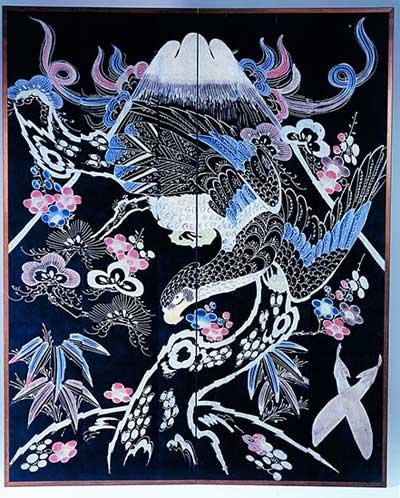 Le Tsutsugaki au Musée Guimet : à la découverte d'un art inconnu