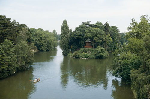 In the Bois de Boulogne, Nature reasserts Itself