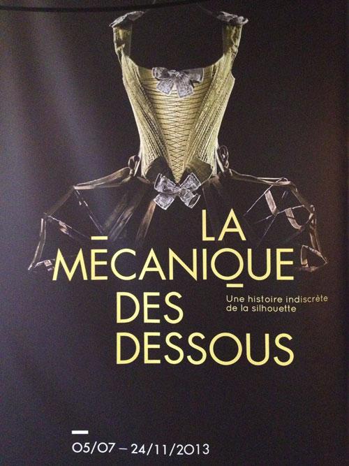 Exposition : La Mécanique des dessous, une histoire indiscrète de la silhouette
