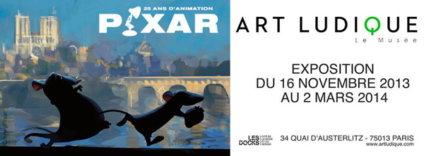 Exposition : Pixar, 25 ans d'animation