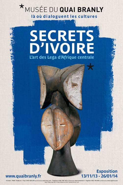 Exposition : Secrets d'ivoire, l'art des Lega d'Afrique centrale