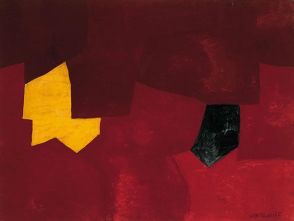 Exposition : Serge Poliakoff, gouaches de 1948 à 1969