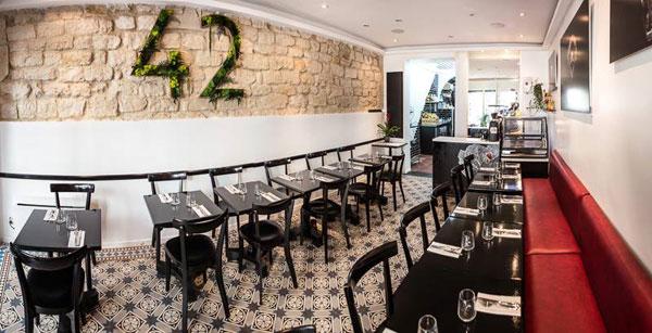 Restaurant 42 Degrés : place à la raw food !