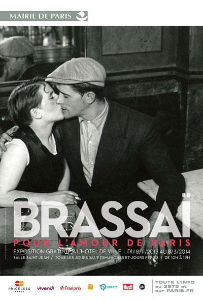 Exposition : Brassaï, pour l'amour de Paris