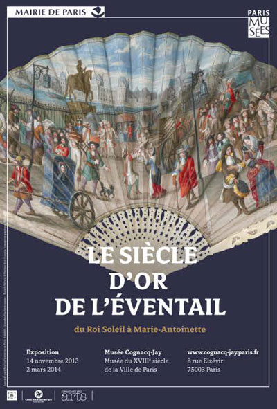 Exposition : Le siècle d'or de l'évantail, du Roi Soleil à Marie-Antoinette