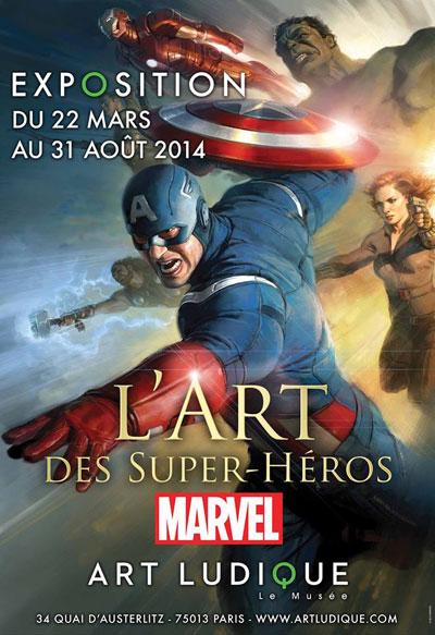 Exposition : L'Art des super-héros Marvel
