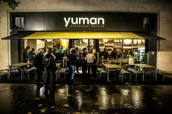 Yuman : restaurant et épicerie fine bio