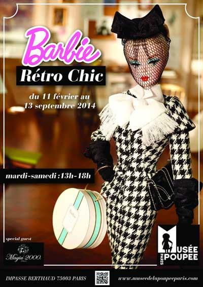 Exhibition: Barbie retro chic