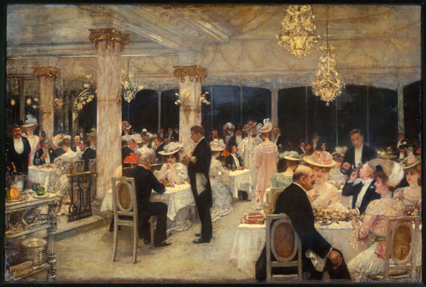 Exposition : Paris 1900, la ville spectacle