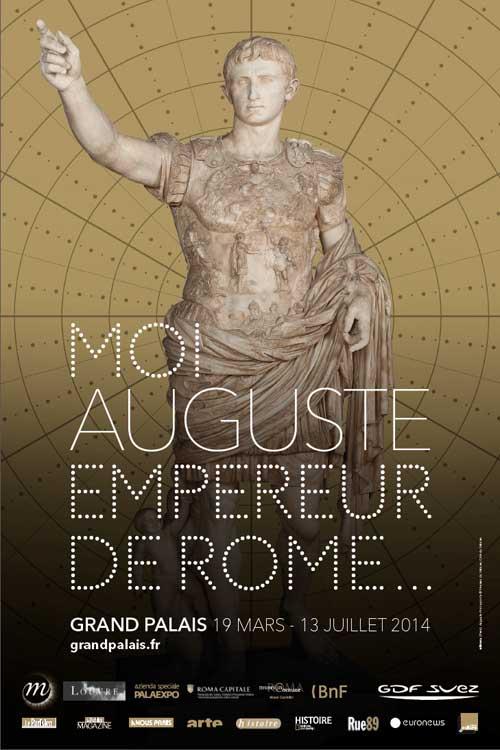 Exposition : Moi, Auguste, Empereur de Rome