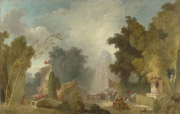 Exposition : De Watteau à Fragonard, les Fêtes galantes