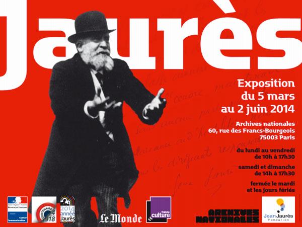 Exposition : Jaurès