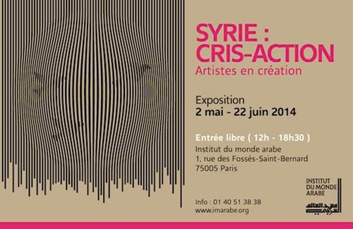 Exposition : Syrie, Cris – Action