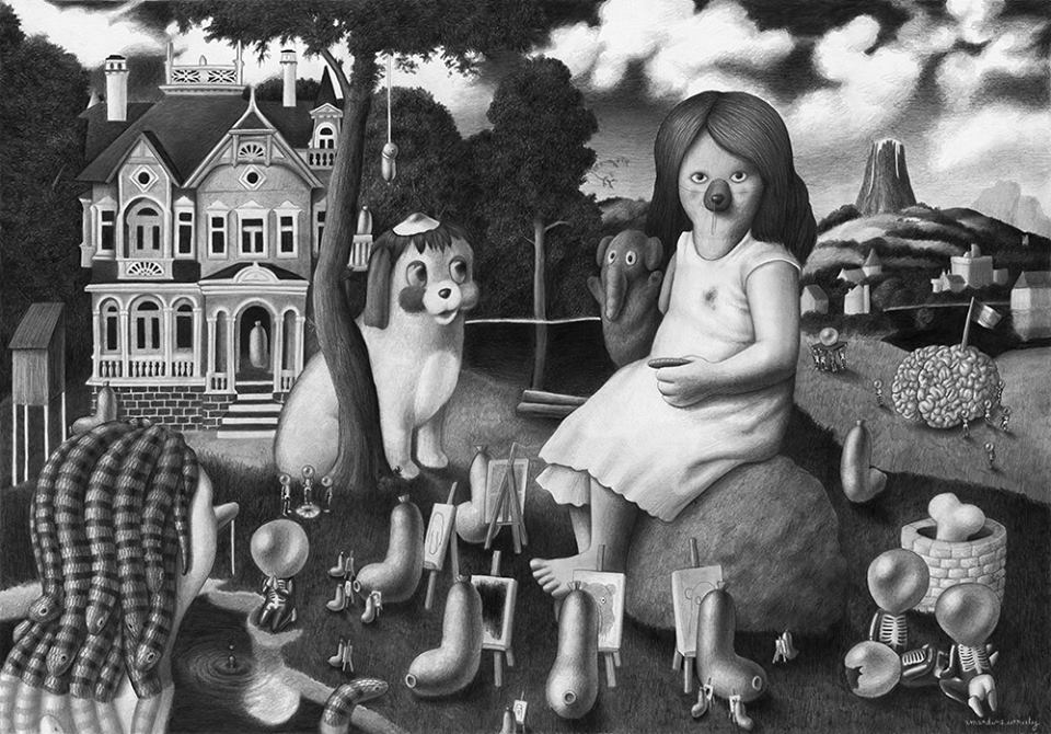 Exposition : Amandine Urruty