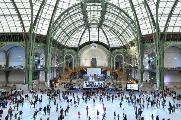 Sortez les patins au Grand Palais !