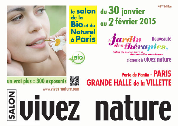 42nd edition of the green trade show Vivez Nature