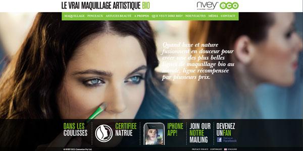 Nvey Eco : le maquillage artistique bio