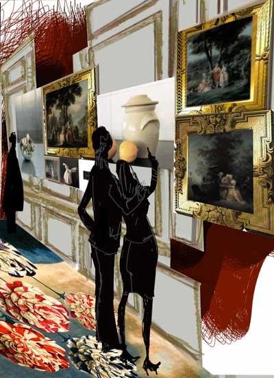 Exposition : Lumières, Carte blanche à Christian Lacroix