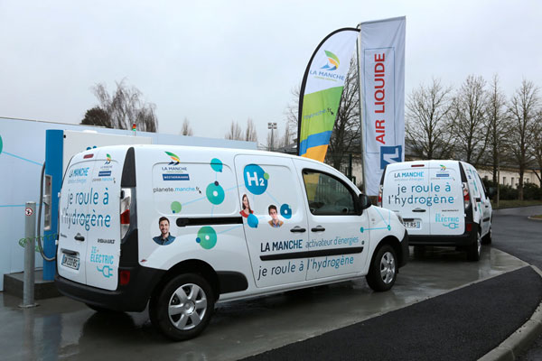 France opens its first hydrogen filling station