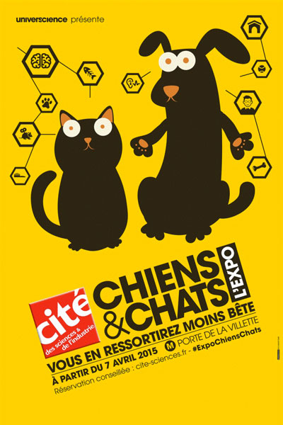 Exposition : Chiens et chats l'expo