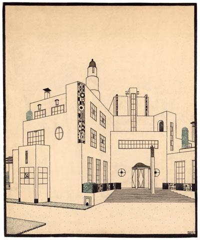 Exposition : Architectures de papier, dessins de Piranèse à Mallet-Stevens