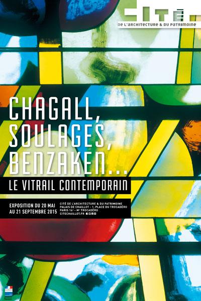 Exposition : Chagall, Soulages, Benzaken… Le Vitrail contemporain