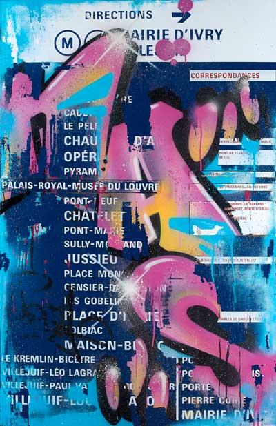 Exposition : Sur les murs, 50 ans d'art urbain à Paris