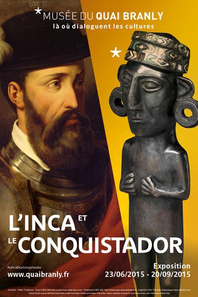 Exhibition: L'Inca et le Conquistador