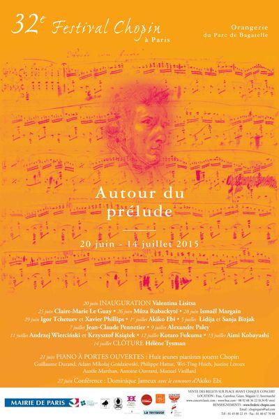 32nd Chopin Festival at the parc de Bagatelle