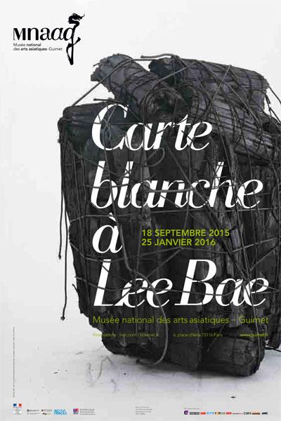 Exposition : Carte blanche à Lee Bae