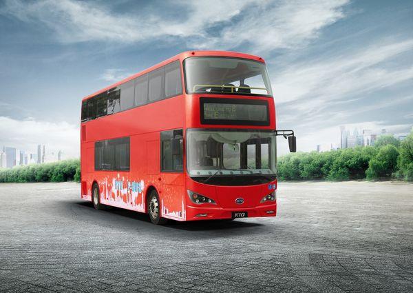 Des bus anglais 100 % électriques pour l'automne 2015