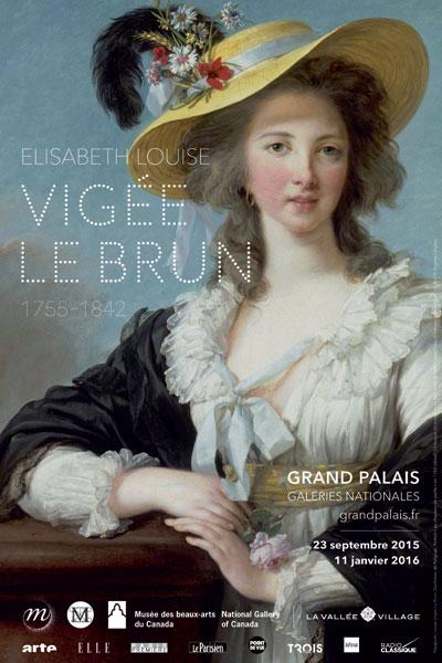 Exposition : Elisabeth Louise Vigée Le Brun