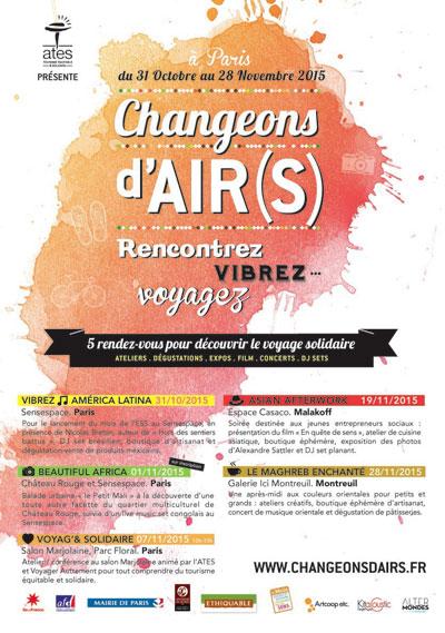 Changeons d'Air(s) : le festival dédié au tourisme solidaire