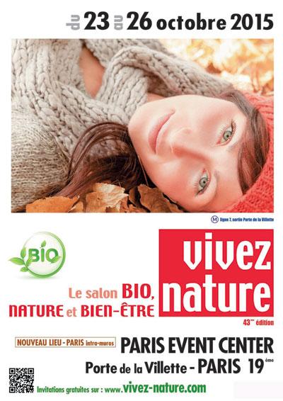 Le salon Vivez Nature revient pour sa 43ème édition à Paris