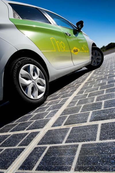 Wattway: Colas invents the solar road!