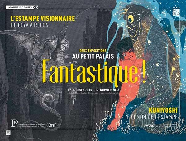 Exposition : Fantastique ! Estampe visionnaire, de Goya à Redon