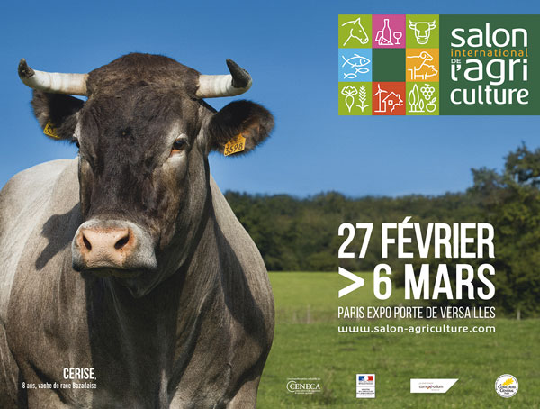 Cerise: Paris International Agricultural Show 53rd edition's muse