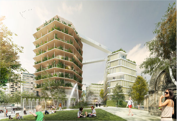 """The call for projects """"Réinventer Paris"""" brings life back to the capital"""