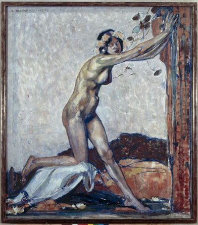 Exposition : George Desvallières, la peinture corps et âme