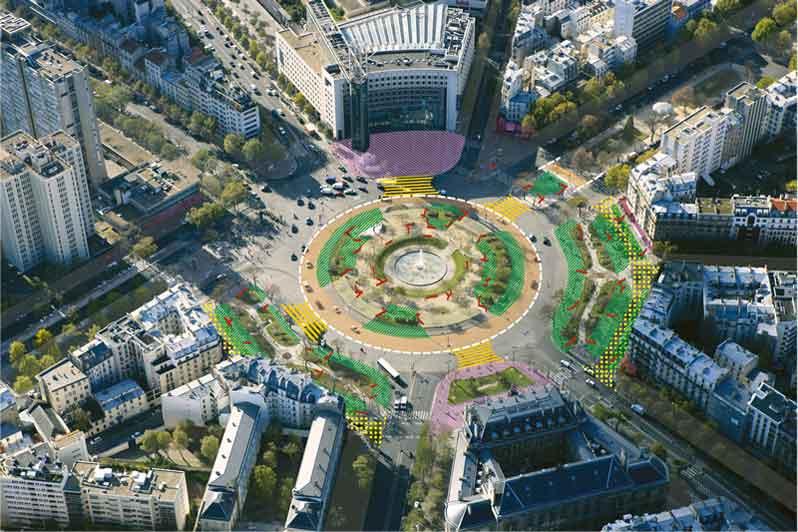Paris redessine sept places emblématiques