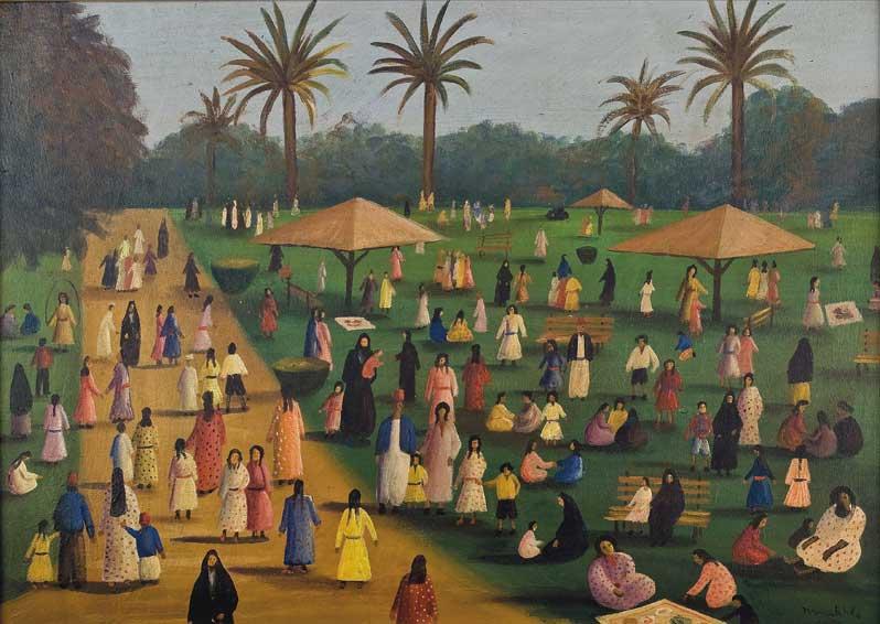 Exhibition: Jardins d'Orient