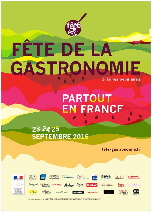 La Fête de la Gastronomie revient pour sa 6ème édition