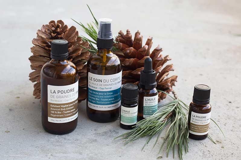 Océopin : des cosmétiques bio à base de pin maritime