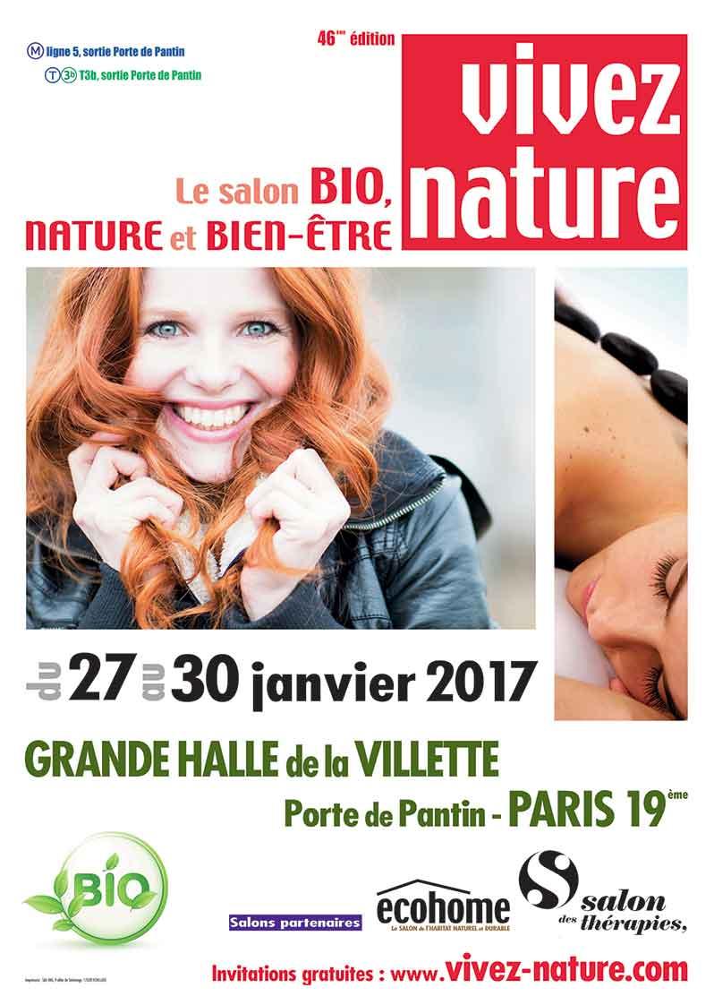 Le salon Vivez Nature est de retour en 2017 !